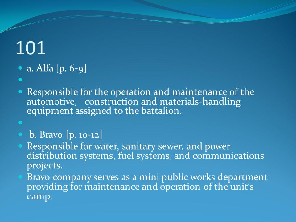101 a. Alfa [p. 6-9]